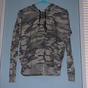 Camp crop hoodie from Charlotte Russe